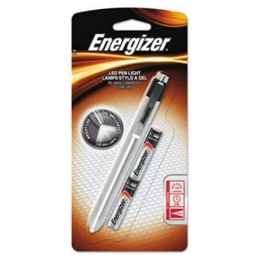 Aluminum Pen Led Flashlight, 2 Aaa, Black