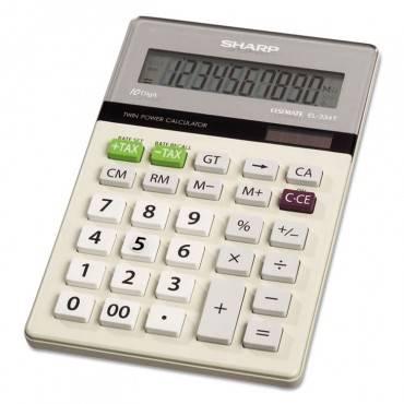 Sharp  El-334tb Basic Calculator, 10-Digit Lcd