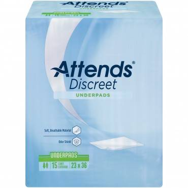https://www.walmart.com/ip/Attends-Discreet-Incontinence-Care-Underpads-with-Odor-Shield-Technology-23-x36-15-Pads/15991983