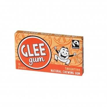 Glee Gum Chewing Gum - Tangerine - Case Of 12 - 16 Pieces