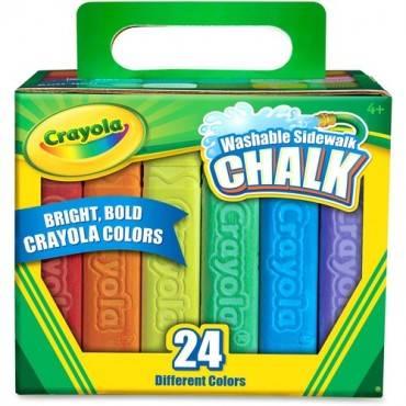 Crayola Washable Sidewalk Chalk (BX/BOX)