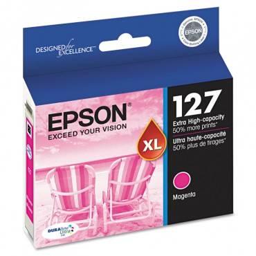 Epson  T127320 (127) Durabrite Ultra Extra High-Yield Ink, Magenta