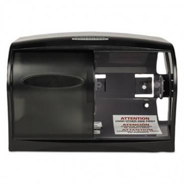Essential Coreless Srb Tissue Dispenser, 11 1/10 X 6 X 7 5/8, Smoke/gray