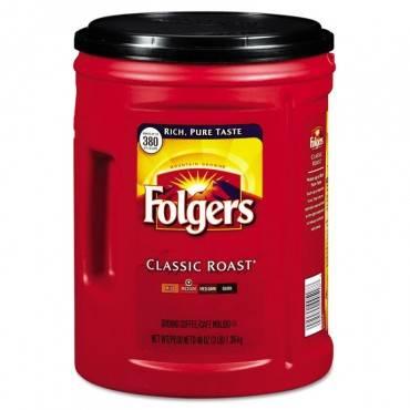 Folgers  Coffee, Classic Roast, 48oz Can 2550000529C 1 Each