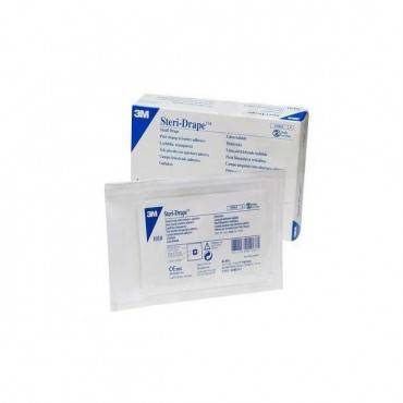 "Steri-drape Large Towel With Adhesive Strip, 17-5/8 X 23-1/2"" Part No. 1010 (10/box)"