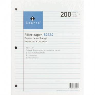 Sparco Standard White 3HP Filler Paper (PK/PACKAGE)