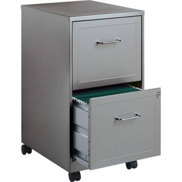 "Lorell SOHO 18"" 2-Drawer Mobile File Cabinet (EA/EACH)"