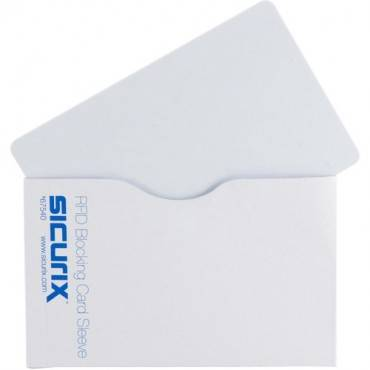 SICURIX Smart Card RFID-Blocking Sleeves - Horizontal (PK/PACKAGE)
