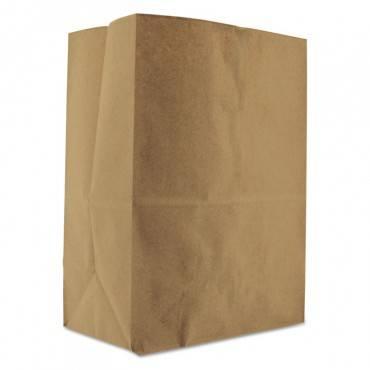 "Grocery Paper Bags, 52 Lbs Capacity, 1/8 Bbl, 10.13""w X 6.75""d X 14.38""h, Kraft, 500 Bags"