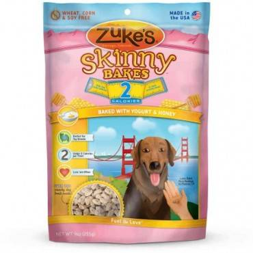 Zuke's Skinny Bakes - Yogurt and Honey - Case of 6 - 9 oz.