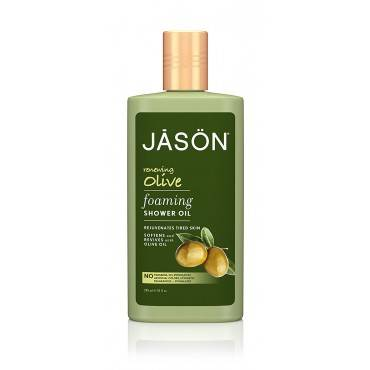 Jason Natural Products Jason Natural Jason Foaming Shower Oil - Smoothing Coconut - Case of 1 - 10 F