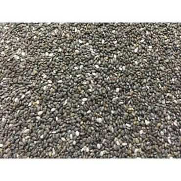 Bulk Seeds - Organic Black Chia Seeds - Case Of 25 - 1 Lb.