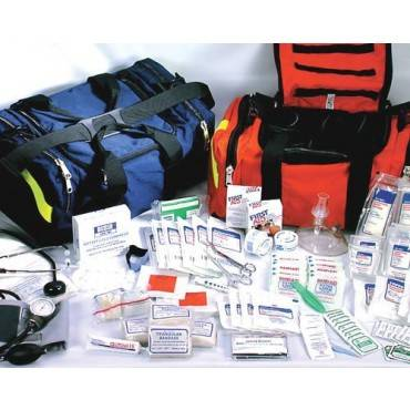 Ever Ready First Aid & Med First Responder Kit Orange Nylon w/ Contents Part No.EM3091
