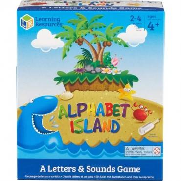 Learning Resources Alphabet Island Letter/Sounds Game (EA/EACH)