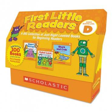 Scholastic FIRST LITTLE READERS, READING, GRADES PRE K-2, 8 PAGES/BOOK, 5 BOOKS, LEVEL D 9781338111460 1 Each