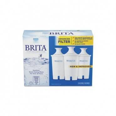 Water Filter Pitcher Advanced Replacement Filters, 3/pk, 8 Pks/carton