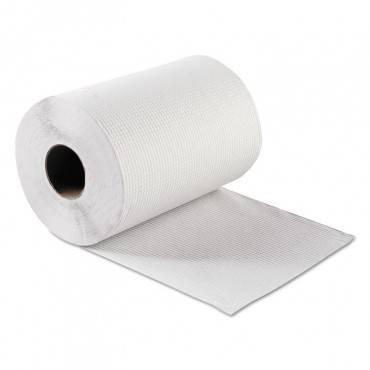 "Hardwound Roll Towels, White, 8"" X 300 Ft, 12 Rolls/carton"