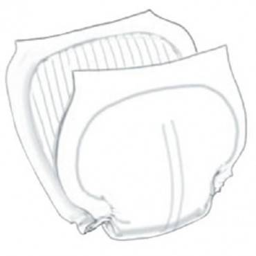 Wings Contoured Insert Pad, Night-time Absorbency Part No. 6598b24 (24/package)