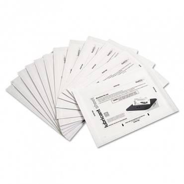 Shredder Lubricant Sheets, 8 1/2 X 5 1/2, 24/pack