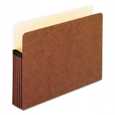 "Standard 5 1/4"" Expanding File Pockets, Manila, Straight Cut, Letter, 10/box"