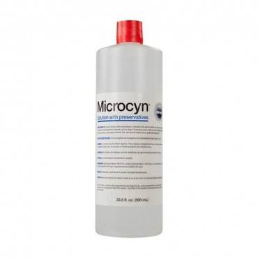Microcyn Solution with Preservatives 990 mL Bottle Part No. 84781-6 Qty 1