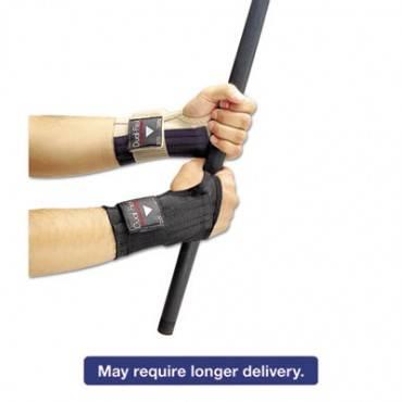 Dual-Flex Wrist Supports, X-Large, Nylon, Black