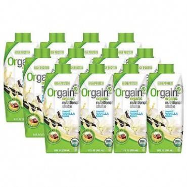 Orgain Organic Nutritional Shakes - Sweet Vanilla Bean - 11 Fl Oz.