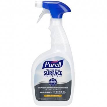 Professional Surface Disinfectant, Fresh Citrus, 32 Oz Spray Bottle, 12/carton