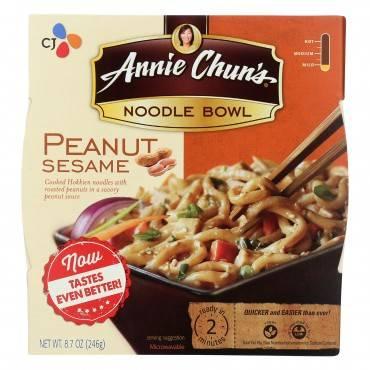 Annie Chun's Noodle Bowls  - Case of 6 - 8.7 OZ