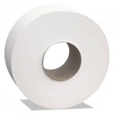 "Select Jumbo Bath Tissue, Septic Safe, 2-ply, White, 3.45"" X 1000 Ft, 12 Rolls/carton"