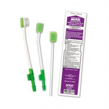 Untreated Suction Toothbrush with Suction Swab and Applicator Part No. 6576 Qty 1