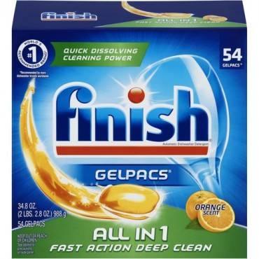 Finish All-n-1 Detergent Gelpacs (BX/BOX)