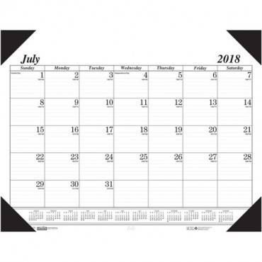 House of Doolittle 14-month Academic Economy Desk Pad (EA/EACH)