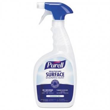 Healthcare Surface Disinfectant, Fragrance Free, 32 Oz Spray Bottle, 3/carton