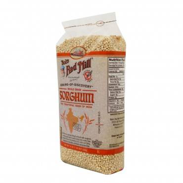 Bob's Red Mill Gluten Free Sweet White Sorghum Grain - 24 oz - Case of 4