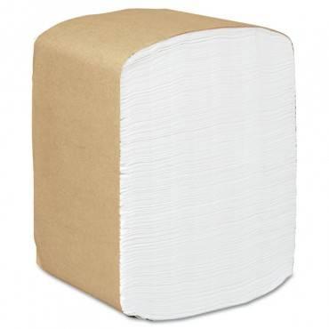 Full Fold Dispenser Napkins, 1-ply, 13 X 12, White, 375/pack, 16 Packs/carton