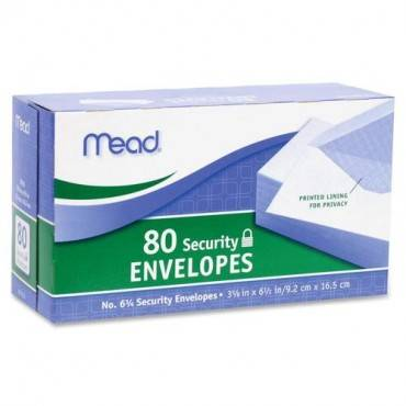 Mead White Security Envelopes (BX/BOX)