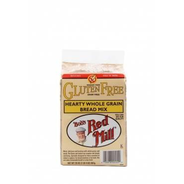 Bob's Red Mill Gluten Free Hearty Whole Grain Bread Mix - 20 Oz - Case Of 4