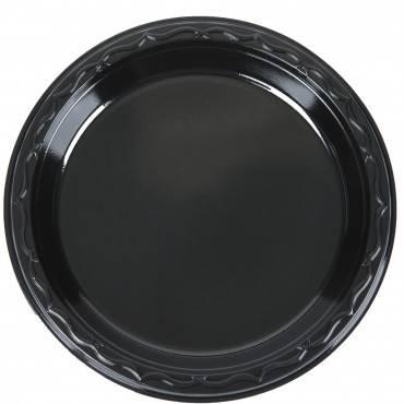 https://www.webstaurantstore.com/genpak-blk06-silhouette-6-black-premium-plastic-plate-125-pack/999BLK06.html
