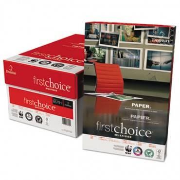 First Choice Multiuse Premium Paper, 98 Bright, 24lb, 11 X 17, White, 500/ream