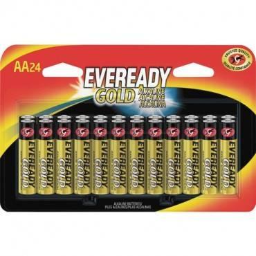 Eveready Gold Alkaline AA Batteries (PK/PACKAGE)