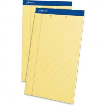 Ampad Perforated Ruled Pads - Legal (DZ/DOZEN)