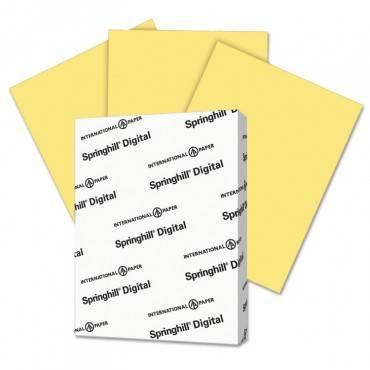 Digital Index Color Card Stock, 110lb, 8.5 X 11, Buff, 250/pack