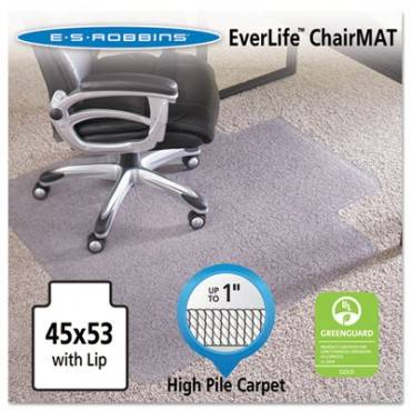 45x53 Lip Chair Mat, Performance Series Anchorbar For Carpet Up To 1 Inch
