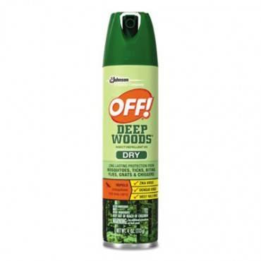 Deep Woods Dry Insect Repellent, 4oz, Aerosol, Neutral, 12/carton