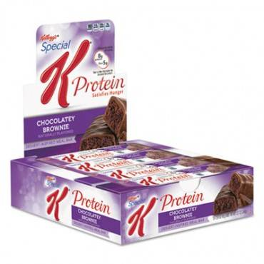 Kellogg S  Special K Protein Meal Bars, Chocolatey Brownie, 1.59 Oz Bar, 8/Box