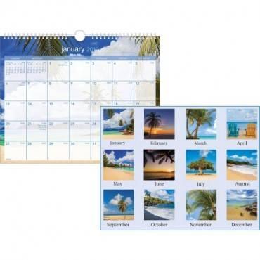 At-A-Glance Tropical Escape Monthly Wall Calendar (EA/EACH)