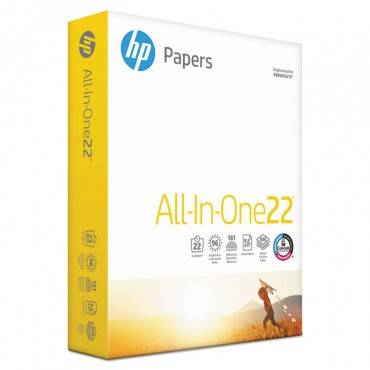 Hp Papers ALL-IN-ONE22 PAPER, 96 BRIGHT, 22LB, 8-1/2 X 11, WHITE, 500 SHEETS/REAM 20701-0 1 Ream