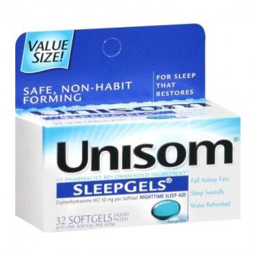 Unisom SleepGels, Maximum Strength, 32 count (pack of 1)