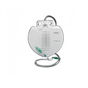 Davol Urinary Drainage Bag 2,000 Ml Part No. 802001 (20/case)
